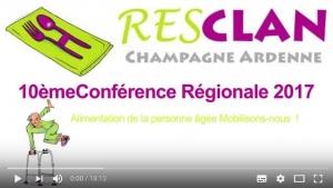 Conférence Régionale RESCLAN