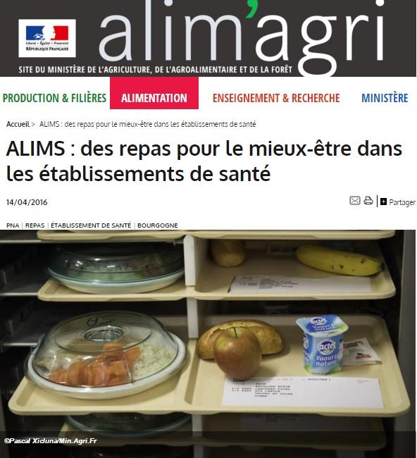 Article du Ministère de l'Agriculture