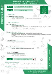 Programme 1ere TR