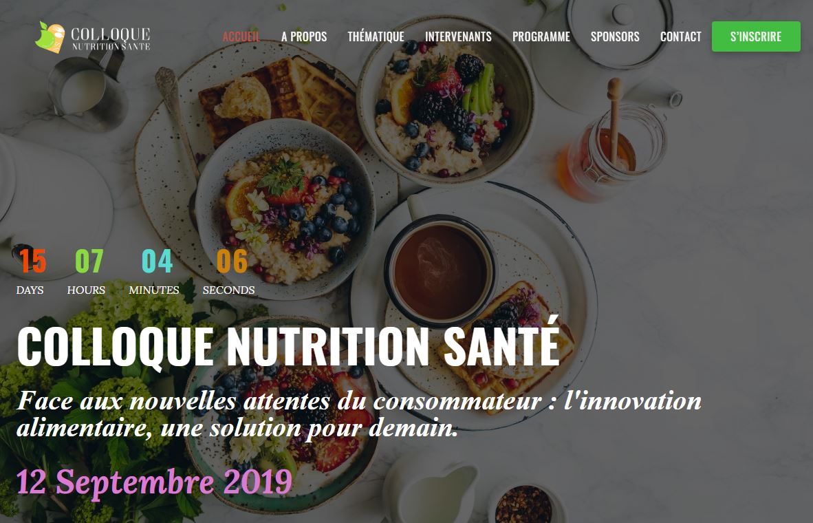 Colloque Nutrition Santé